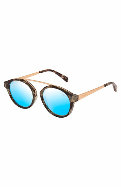 La Ruche Sunglasses Ice Blue/Milky Tort