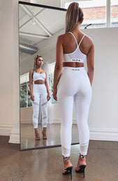 Frequency Leggings White