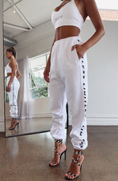 Go Big Sweatpants White