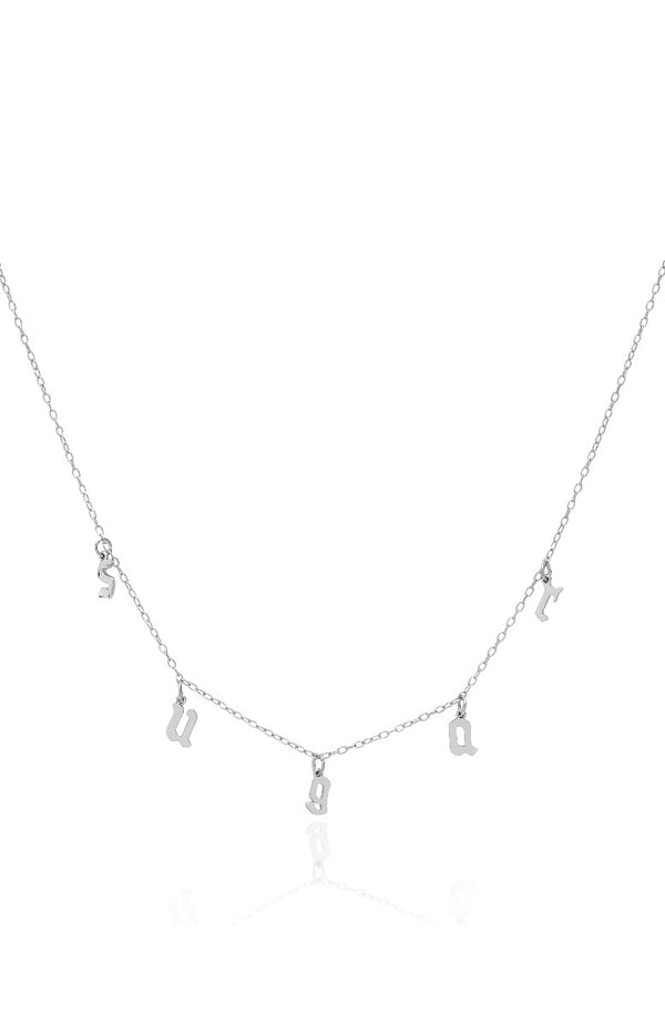 Sugar Sugar Necklace Silver
