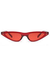 Crawford Sunglasses Red