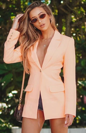 Manhattan Blazer Peach