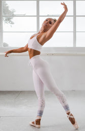 Vinyasa Flow Leggings Pink Moroccan