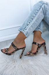 Dionis Mules Light Leopard