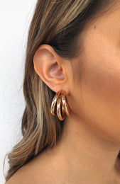 Dakota Earrings Gold