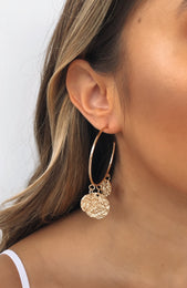 Creative Icon Earrings Gold