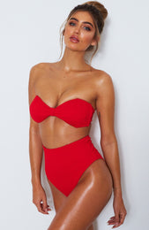 Tula Bottoms Red Rib