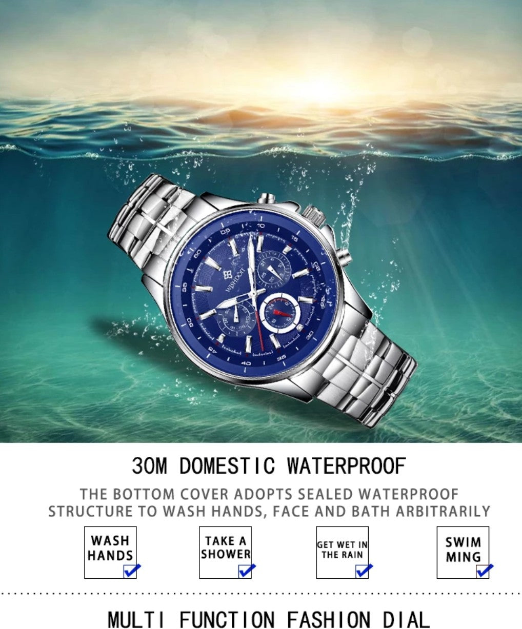 Men's Watch Waterproof Top Brand Luxury Quartz Watch Sports Watch