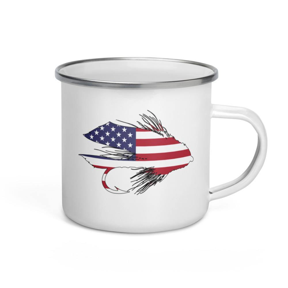 Stars & Stripes Muddler Enamel Mug