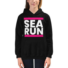 Load image into Gallery viewer, Kids Pink SEA RUN Hoodie