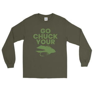 Go Chuck Your LS Shirt