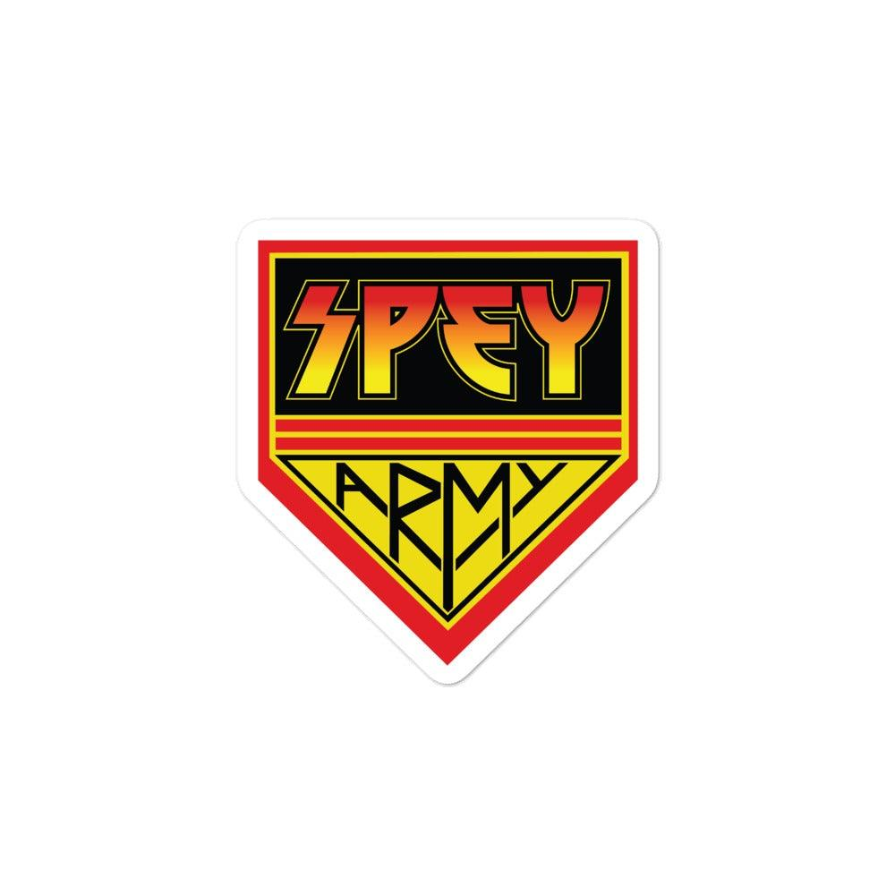 Spey Army stickers