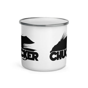 Chucker Fly Enamel Mug