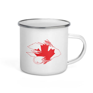 Maple Muddler Enamel Mug