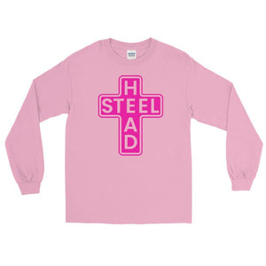 Pink Holy Steelhead LS Shirt