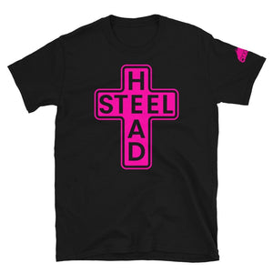 Pink Holy Steelhead T-Shirt