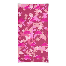 Load image into Gallery viewer, Pink Camo Chucker Neck Gaiter