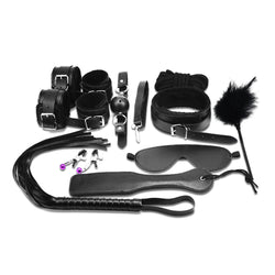 14 pcs Bondage Beginners/Starter Kit/Pack Cuffs Restraint Fetish Sex Toy BDSM