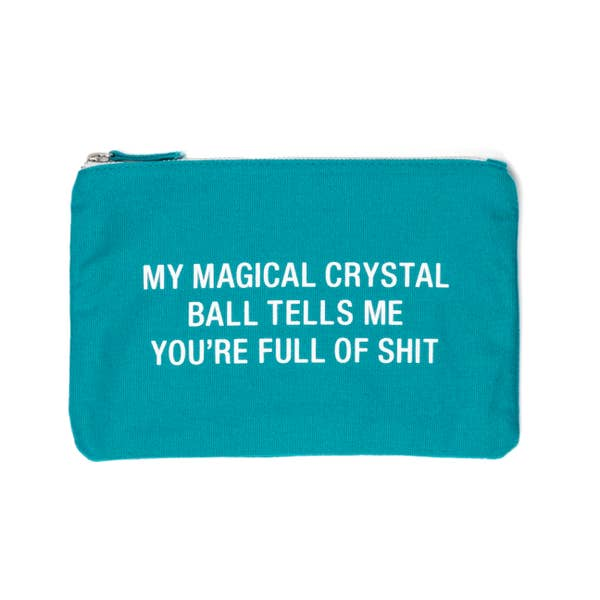 Crystal Ball Small Cosmetic Bag