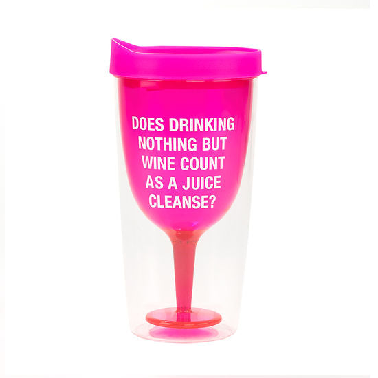 Juice Cleanse Wine Tumbler