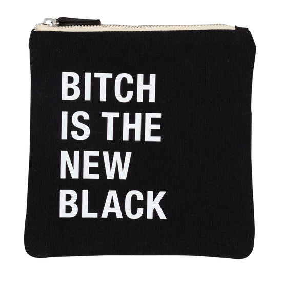 B is the New Black Cosmetic Bag