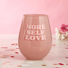 Load image into Gallery viewer, Jumbo Self Love Wine Glass