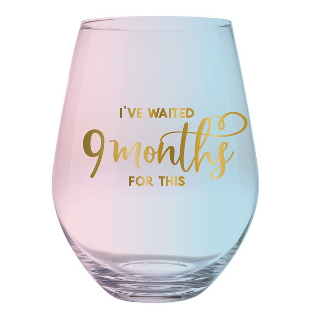 Jumbo New Mom Wine Glass