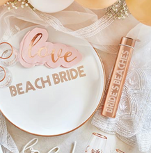 Load image into Gallery viewer, Bride's Beaches Slim Flask