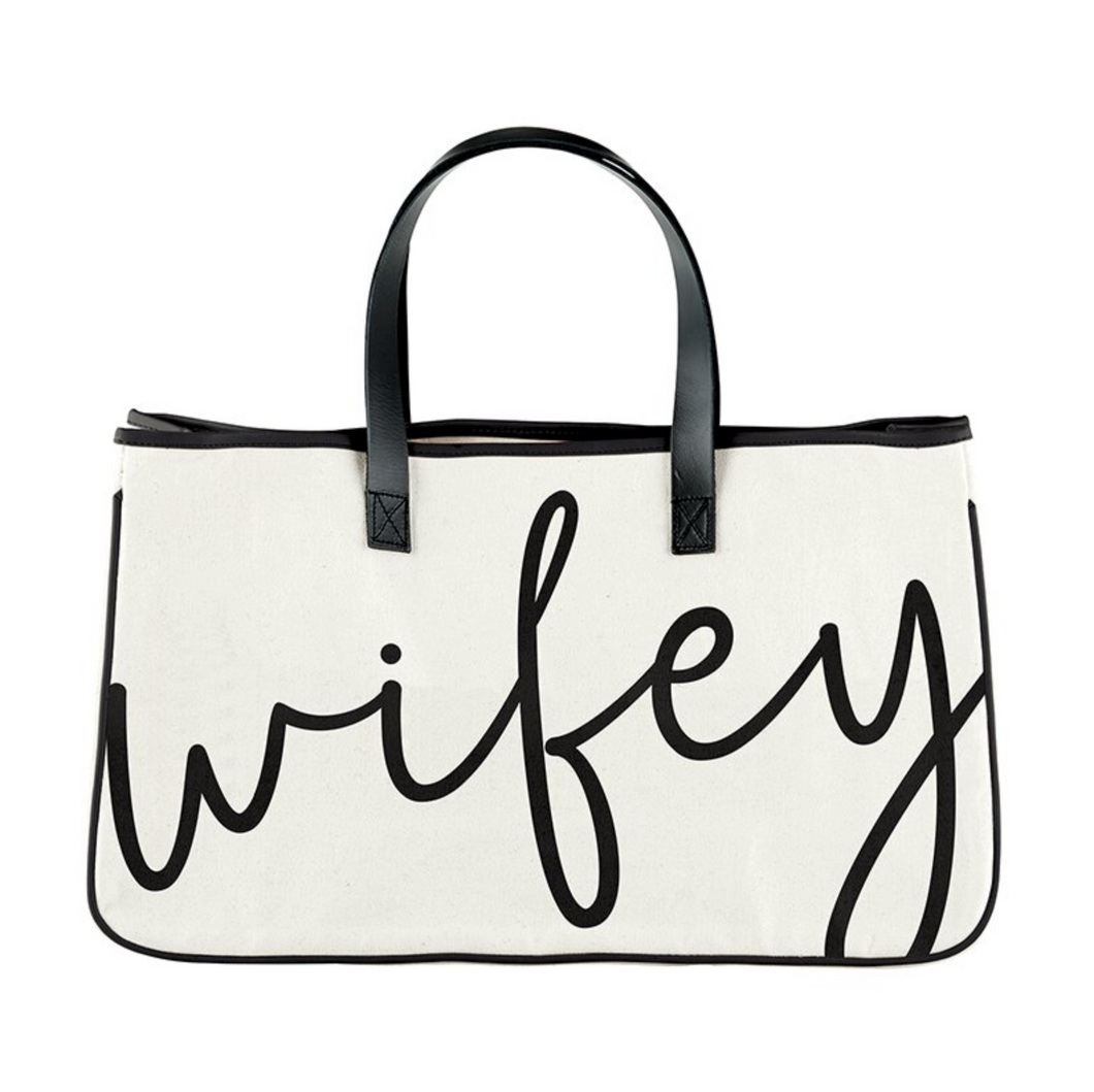 Wifey Canvas Tote