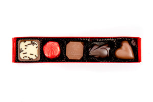 5 Piece Assorted Chocolates