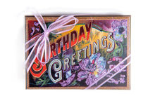 Load image into Gallery viewer, Hand Decorated Box - Birthday Greetings