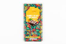 Load image into Gallery viewer, Almonds & Sea Salt | Dark Chocolate (100g)
