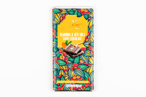 Almonds & Sea Salt | Dark Chocolate (100g)