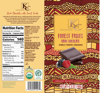 Load image into Gallery viewer, ORGANIC Single Origin Tanzania | Forest Fruits, Dark Chocolate (100g)