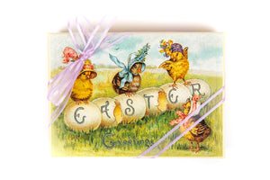 Easter Hand Decorated Boxes (Easter Chicks)