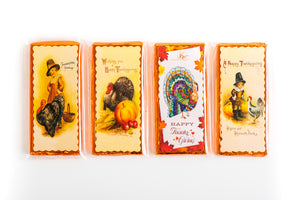 Hand Decorated Thanksgiving - Single 40g bars