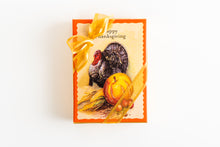 Load image into Gallery viewer, Thanksgiving Hand Decorated Box - Pumpkin & Turkey