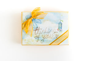 Hand Decorated Box - Thinking of you