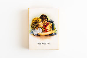 Hand Decorated Box - We Miss You