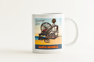 Greetings From Santa Monica Mug