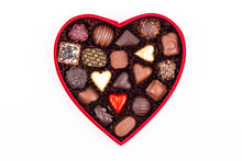 Load image into Gallery viewer, Valentine's Day Velvet Heart Chocolate Gift Boxes