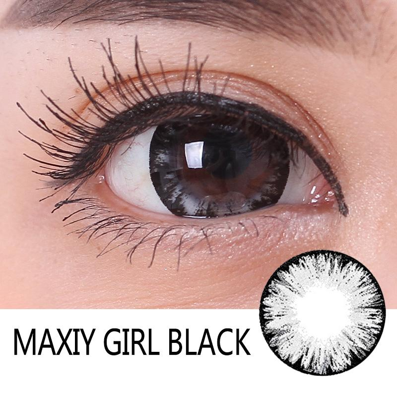 Maxiy Girl 7 Colors 12 Month Colored Contact Lenses Under 10 Buy 3 Stuncloth