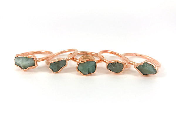 Emerald Ring | May Birthstone