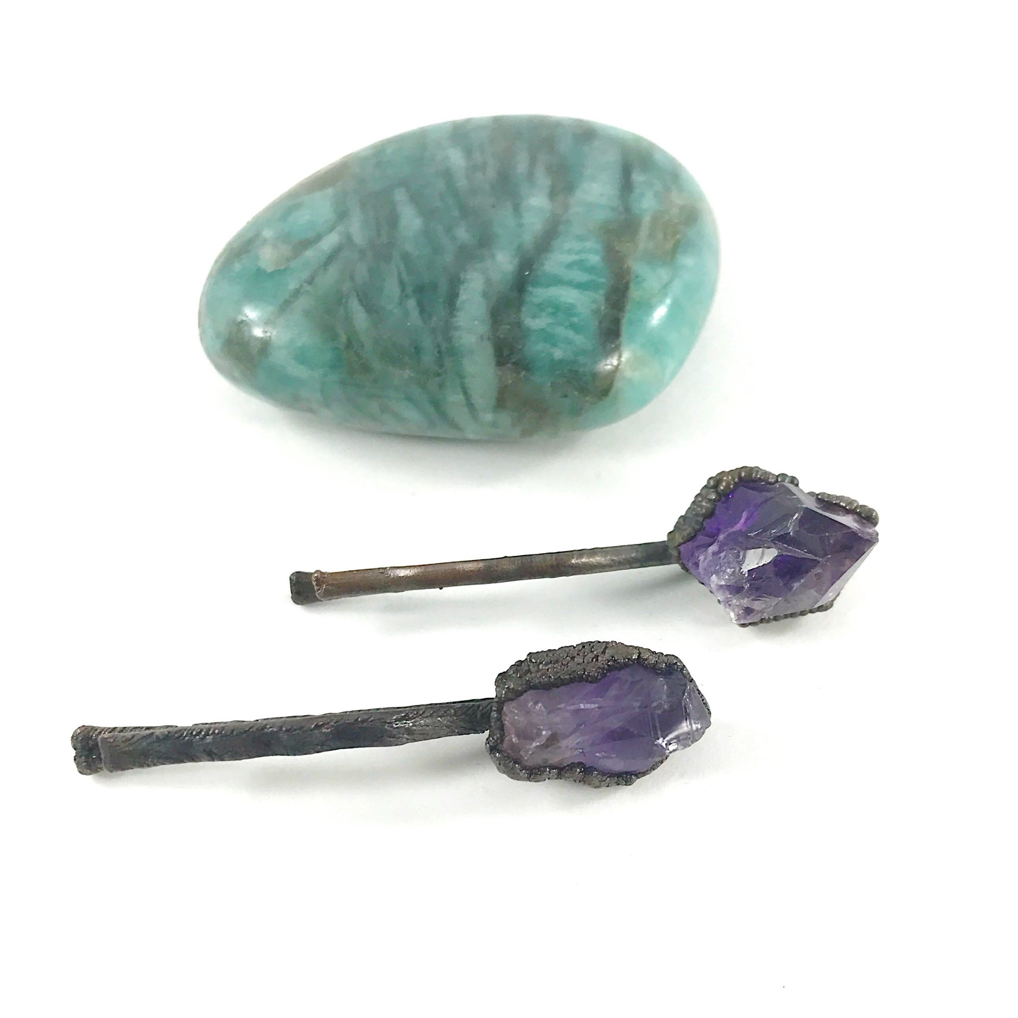 Amethyst Bobby Pin | February Birthstone