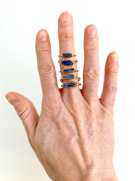 Kyanite Blade Ring