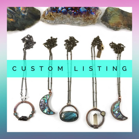 Custom Listing for Ora - Moonstone Statement Ring