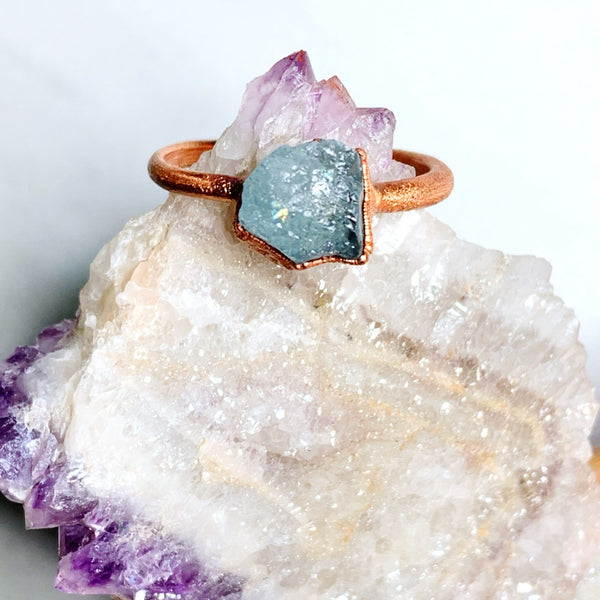 Aquamarine Ring | March Birthstone