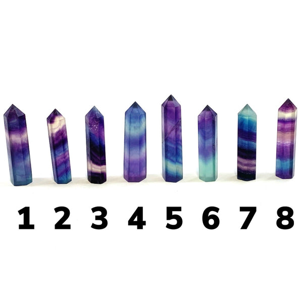 Rainbow Fluorite Point (Small)