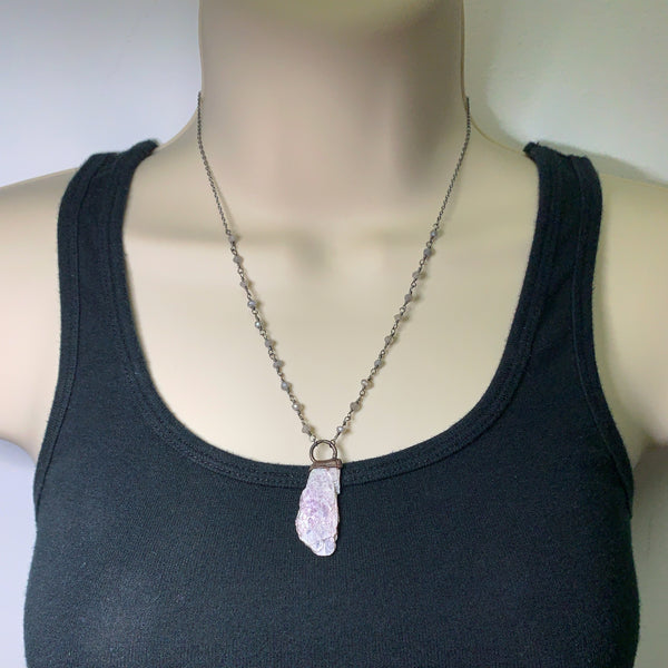 Lepidolite Necklace 1 (Small)