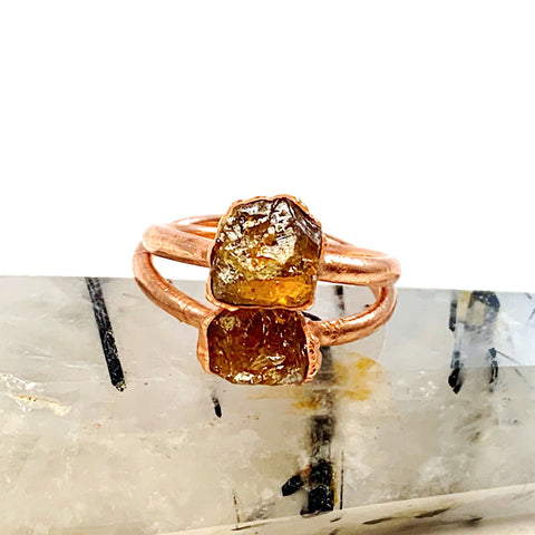 Citrine Ring | November Birthstone